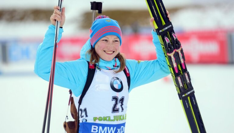 Подчуфарова принесла России первую победу в биатлоне за три года