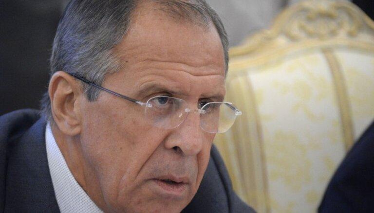 Lavrovs: ASV priekšlikumi Ukrainas krīzes atrisinājumam nav pieņemami