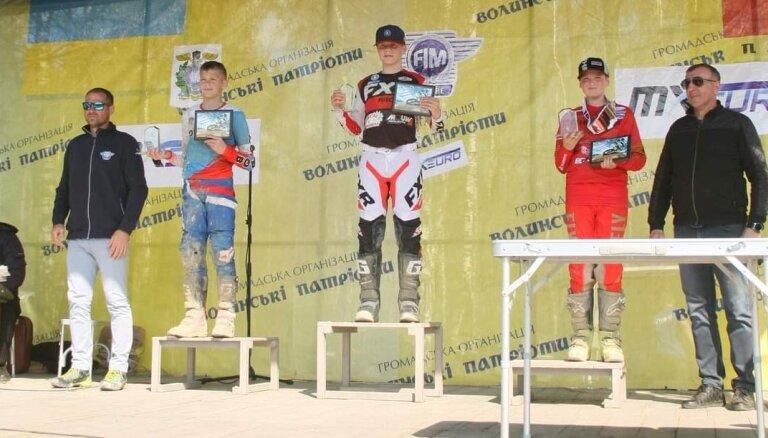 Reišulis uzvar Eiropas čempionātā motokrosā Ukrainā