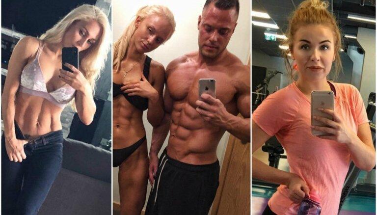 Iedvesmojoši piemēri: Latvijas fitnesa entuziasti – skaistu ķermeņu īpašnieki