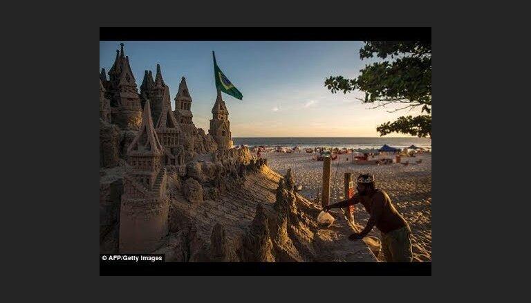 ВИДЕО. Житель Бразилии 22 года живет в замке из песка, чтобы не платить за аренду