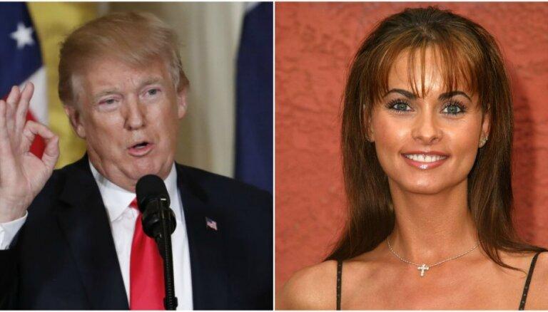 Skandāls Baltajā namā: bijusī 'Playboy' modele detalizēti izklāsta dēku ar Trampu