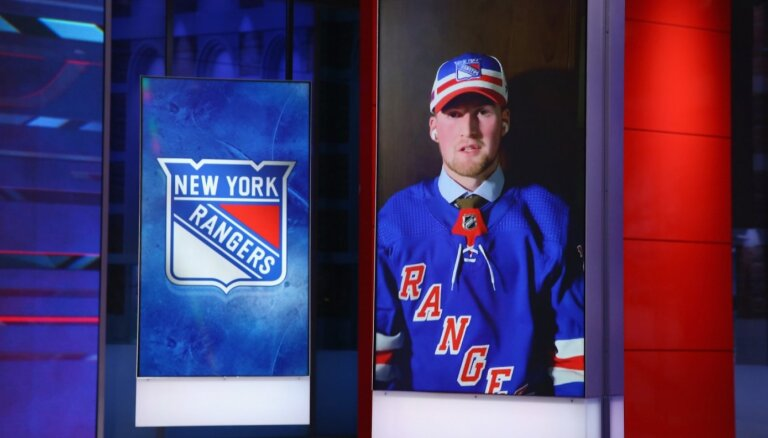 'Rangers' NHL draftā ar pirmo numuru izvēlas talantīgo kanādieti Lafrenjē