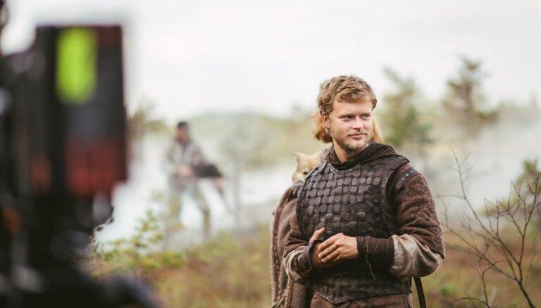 'Nebūšu tipiskais, neuzvaramais varonis'. 'Vikingu' zvaigzne Edvīns Endre par Nameja lomu
