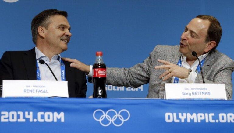 Глава НХЛ предложил перенести хоккейный турнир Олимпиады на лето