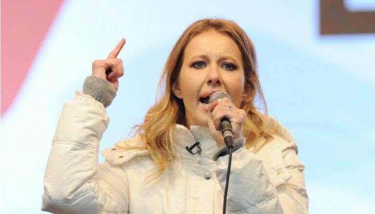 """Ксения Собчак заранее знала, чем завершится """"Марш миллионов"""""""