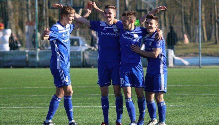 'Daugavpils' skaistā un rezultatīvā spēlē apspēlē 'Spartaks' vienību