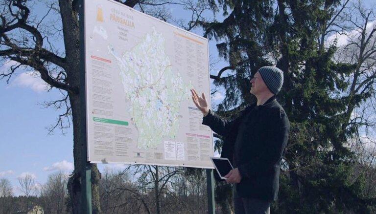 Video: Kā Timrots viesojās Straupē un ieraudzīja slepeno eņģeli