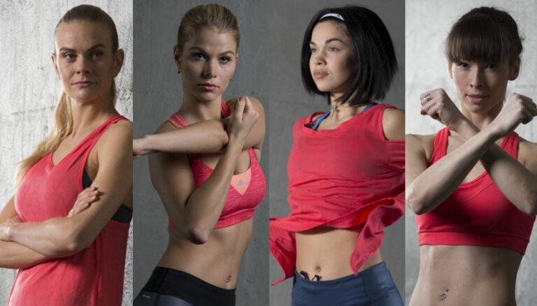 Četras sportiskas un seksīgas latvietes, kuras iedvesmo aktīvam dzīvesveidam