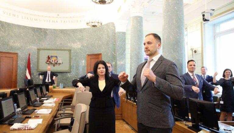 'KPV LV' ministri atlaiduši savus parlamentāros sekretārus