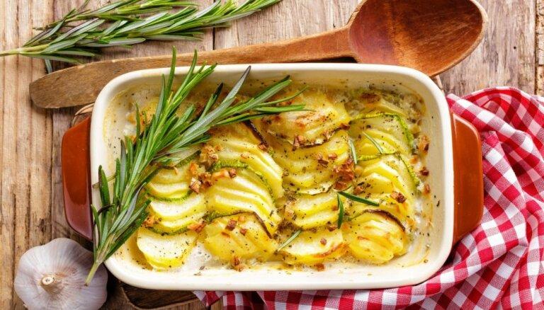16 pavisam vienkārši kartupeļu sacepumi bez liekām sastāvdaļām