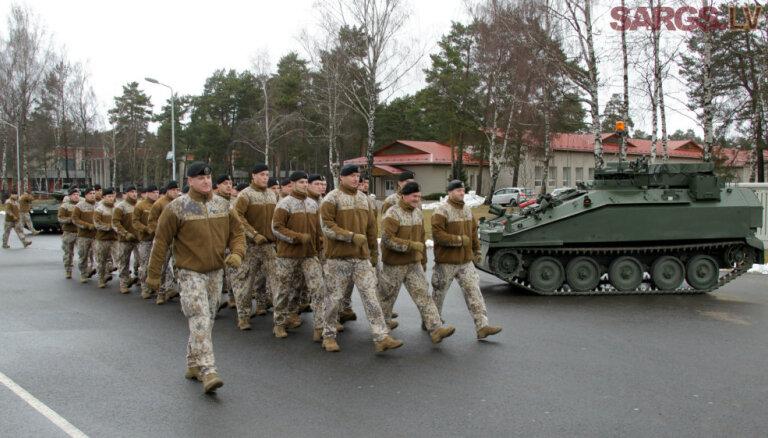 Латвия получила от Великобритании уже 34 боевых разведывательных машины