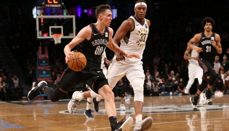 Kurucs ar 24 punktiem labo savu rezultativitātes rekordu; neglābj 'Nets' no zaudējuma