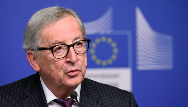 Esmu noguris no 'Brexit', paziņo Junkers