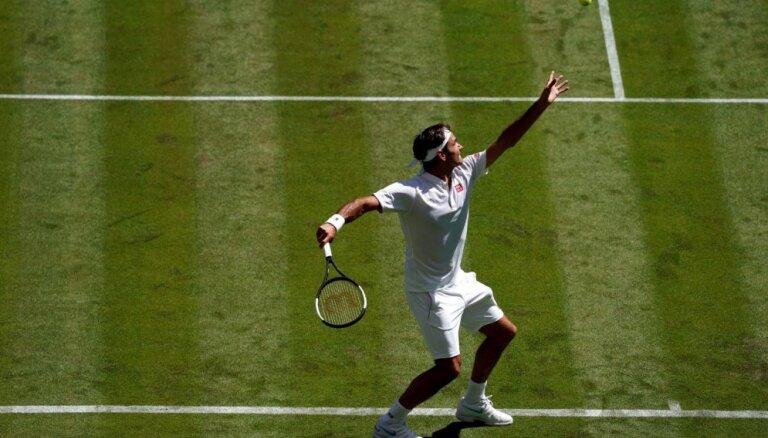 Federers joprojām jūtas ļoti motivēts un cer devīto reizi uzvarēt Vimbldonā