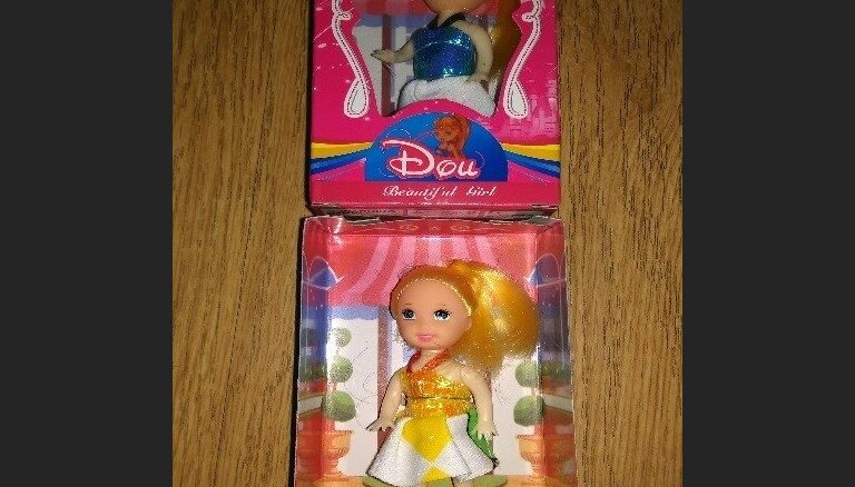 No tirdzniecības atsauc lelli 'Beautiful doll', kas var radīt ķīmiskās saindēšanās risku