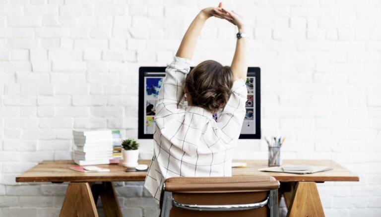Varianti darbīgajiem un slinkajiem – kā ikdienā iekļaut pēc iespējas vairāk aktivitātes