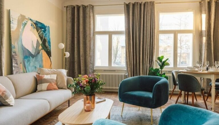 ФОТО. Жемчужина дизайна: современная квартира в доме 1913 года постройки в центре Таллина