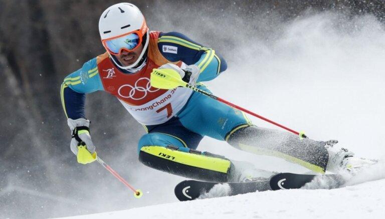 Швед Мирер неожиданно взял золото Игр в слаломе, а Звейниекс и Хиршер потерпели неудачу