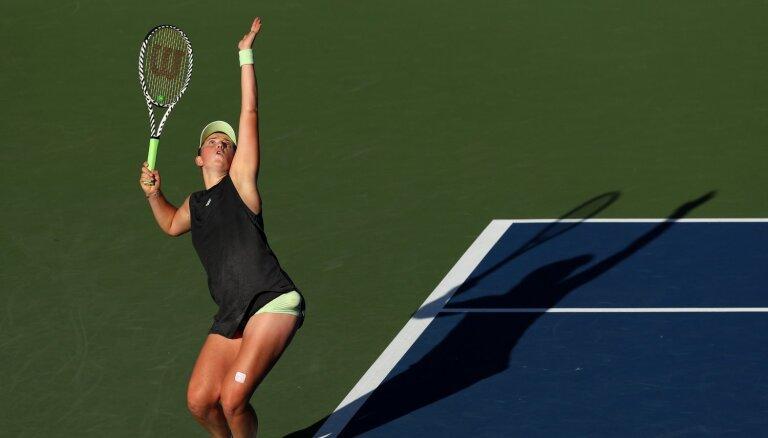 Остапенко победила вторую ракетку мира, несмотря на 25 двойных ошибок