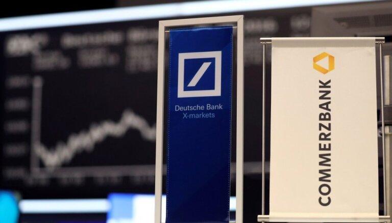 'Deutsche Bank' un 'Commerzbank' sāks konsultācijas par apvienošanos