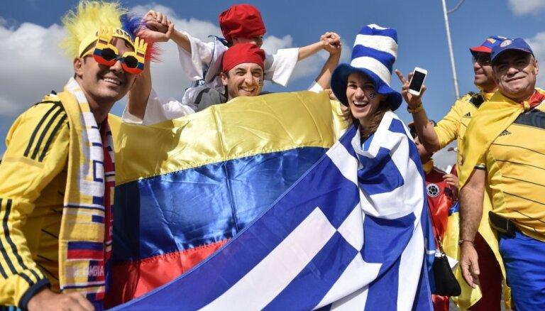 """Спустя год Колумбия вернулась в топ-3 рейтинга ФИФА, у Латвии """"+1"""""""