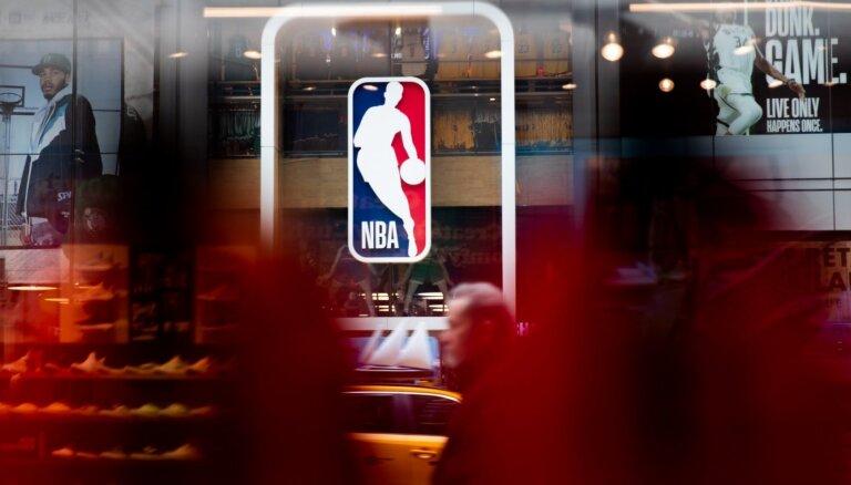 Pēdējās pārbaudēs saslimšana ar Covid-19 noteikta septiņiem NBA spēlētājiem