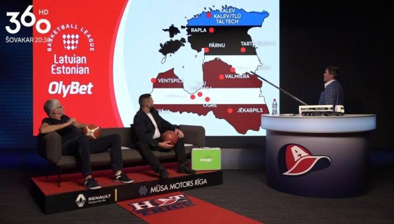 Hattrick puiši diskutē par Latvijas-Igaunijas basketbola līgas vajadzību Latvijai