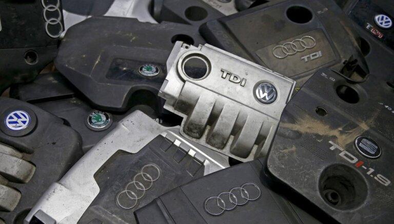 Скандал с дизельными двигателями: в Латвии могут отозвать до 17 000 машин VW, Škoda и Audi