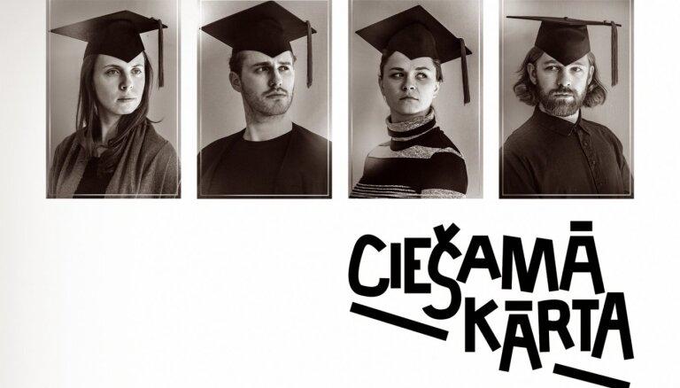 Teātra trupa 'Kvadrifrons' piedāvā akadēmisko izrādi 'Ciešamā kārta'