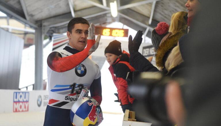Pirmā Pasaules kausa posma uzvarētājs Tregubovs: Siguldas trase man vienmēr ir patikusi