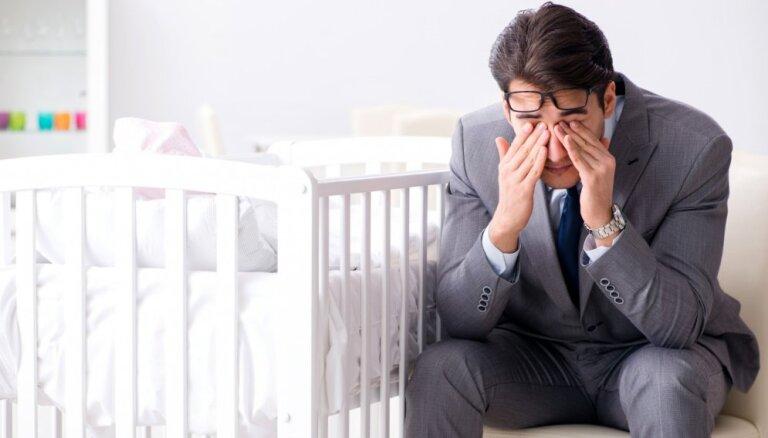 Astoņi pārsteigumi, kurus var sagaidīt jaunie tēti