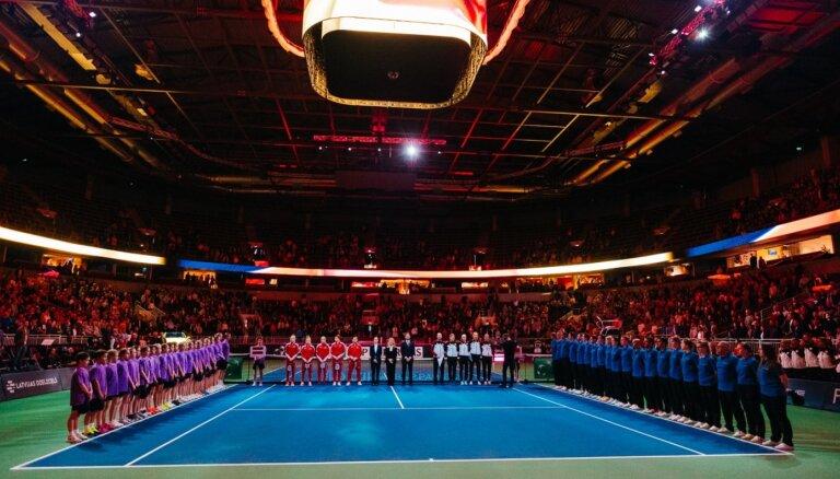 Latvijas tenisistes nākamo Federācijas kausa maču aizvadīs savā laukumā