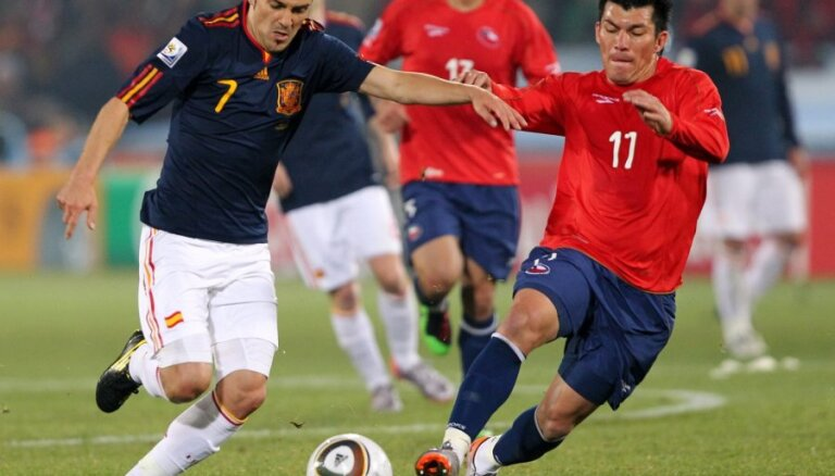 Месси забил словенцам, Вилья оформил дубль в ворота Сальвадора
