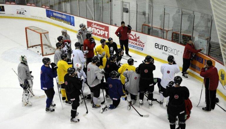 Latvijas hokeja izlase pārbaudes spēlē tiekas ar Krievijas otro izlasi
