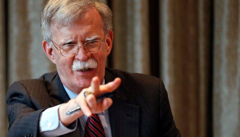 Boltons apsūdz Krieviju ASV raķešu tehnoloģiju zagšanā