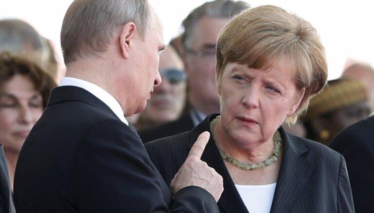 """Путин договорился с Меркель, """"на ногах"""" пообщался с Трампом и раскрыл планы Киева"""