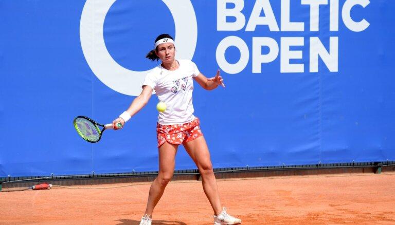 Sevastova un Ostapenko Jūrmalā sāk dalību 'Baltic Open'
