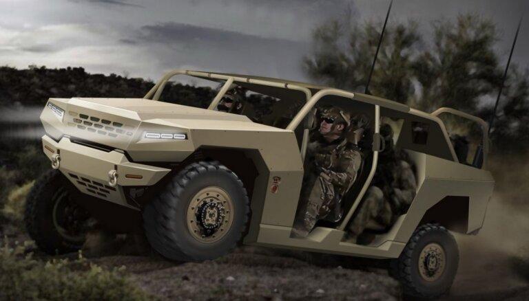 Dienvidkorejiešu 'Kia' izstrādās jaunas paaudzes militāros transportlīdzekļus