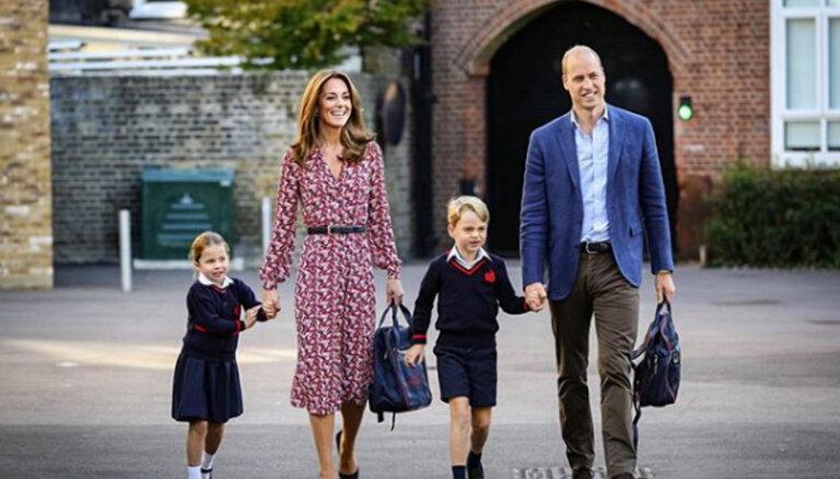 ФОТО и ВИДЕО: Принцесса Шарлотта пошла в школу