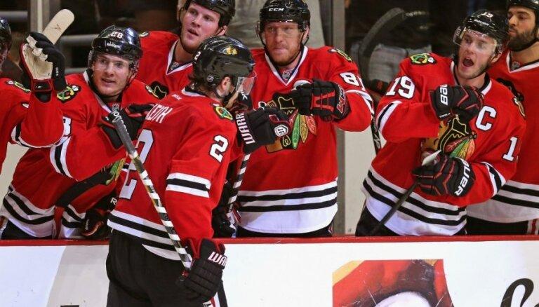 Zināmas jau četras NHL Stenlija kausa izcīņas otrās kārtas dalībnieces