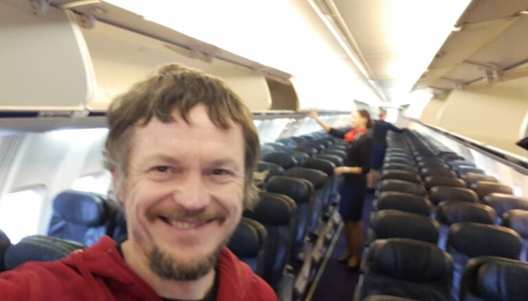 Литовец оказался единственным пассажиром рейса в Италию на почти 200-местном самолете