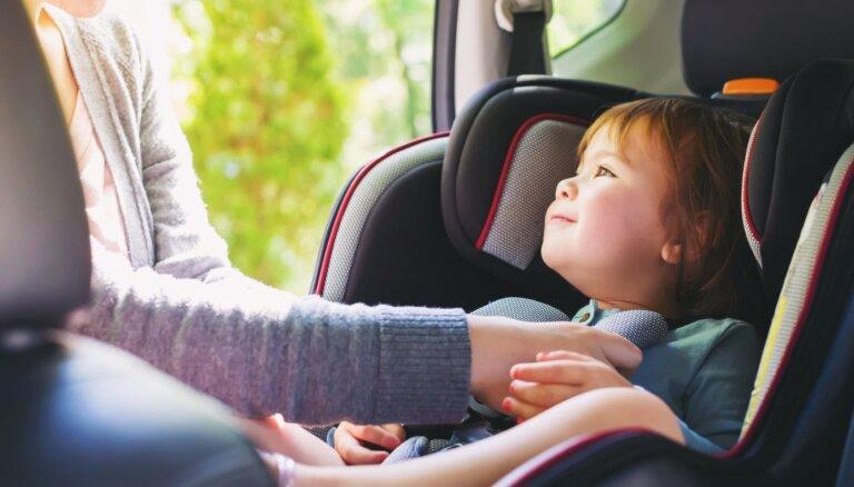 Inventārs un pareiza bērna piesprādzēšana: ieteikumi, kā droši pārvadāt mazos pasažierus