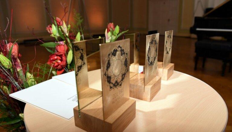 Īpašā apbalvošanas ceremonijā piekto reizi pasniegs Izcilības balvas kultūrā