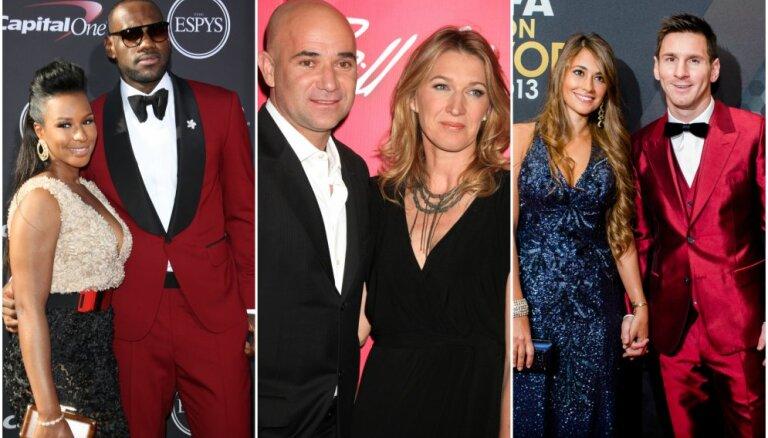 Счастливы вместе: 10 звезд спорта и их вторые половинки