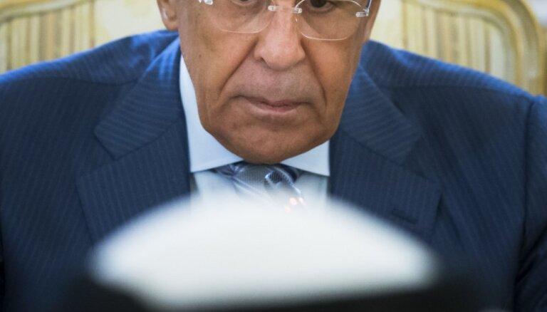 Lavrovs mildronāta dopinga skandālu uzskata par uzbrukumu Krievijai