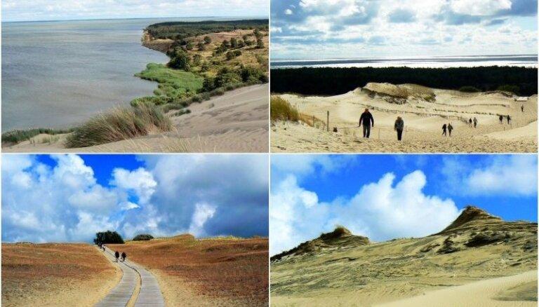 ФОТО. Уникальное место на Куршской косе: эти дюны привлекают туристов со всего мира