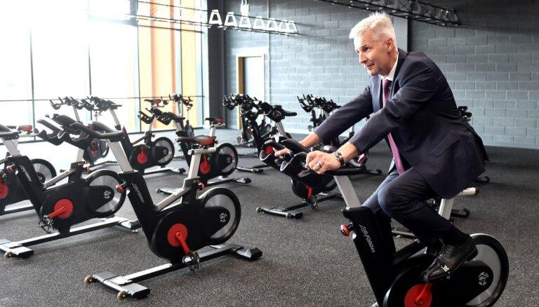 ФОТО: На Адажской базе открылся спортивный комплекс за 19,3 миллиона евро