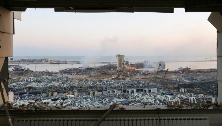 Семья политика Абу Мери была вблизи взрыва в Бейруте, информации о пострадавших латвийцах пока нет