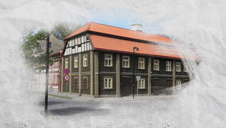 Seno Jelgavu meklējot. Koka māju un bruģa vietā asfalts un stikla paketes